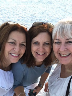 Linda, Sue and Cathy Cole