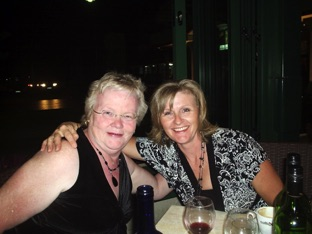 Mary Harris and Karen Mungall