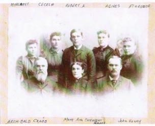 Archie Crabb family